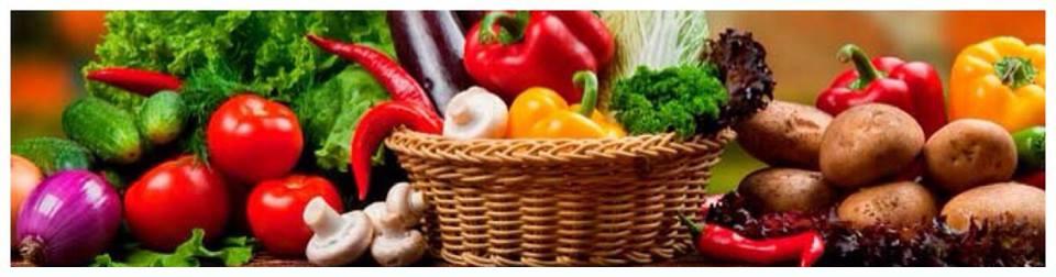 Try Fresh Fruits & Green Vegetables